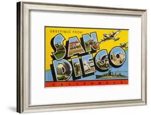 Greetings from San Diego, California