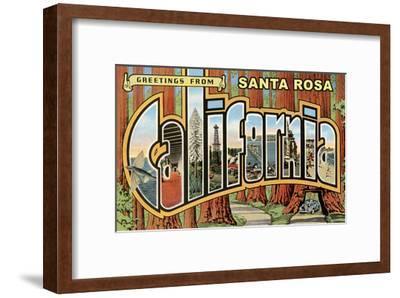 Greetings from Santa Rosa, California