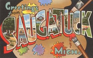 Greetings from Saugatuck, Michigan