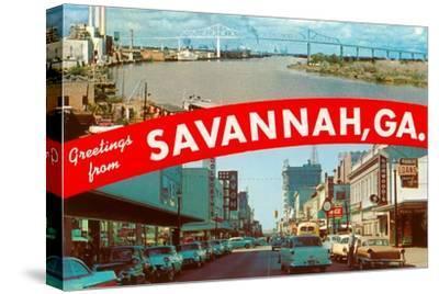 Greetings from Savannah, Georgia