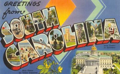 Greetings from South Carolina