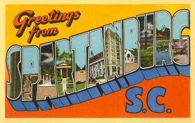 Greetings from Spartanburg, South Carolina