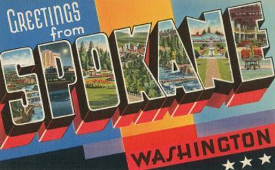 Greetings from Spokane, Washington