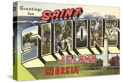 Greetings from St. Simon's Island, Georgia