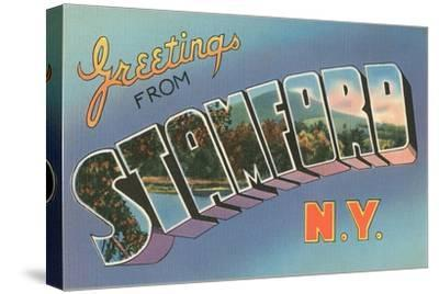 Greetings from Stamford, New York