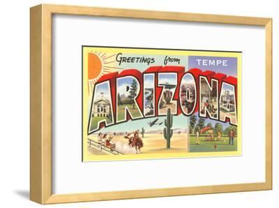 Greetings from Tempe, Arizona