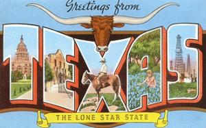 Greetings from Texas, the Lone Star State