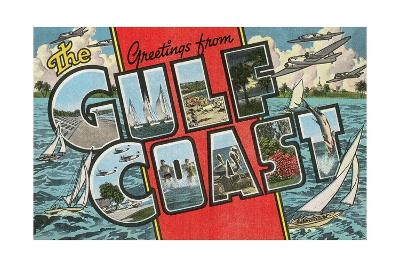 Greetings from the Gulf Coast, Florida--Giclee Print
