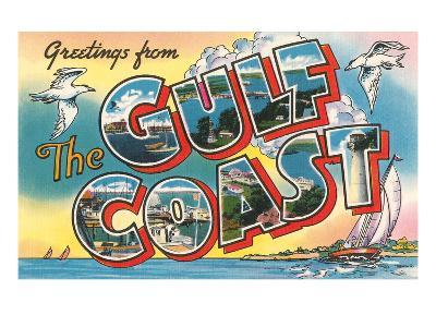 Greetings from the Gulf Coast--Art Print