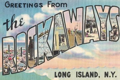 Greetings from the Rockaways, Long Island, New York--Giclee Print