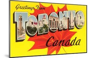 Greetings from Toronto, Canada