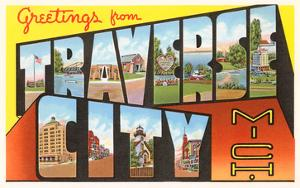 Beautiful greetings from michigan artwork for sale posters and greetings from traverse city michigan m4hsunfo