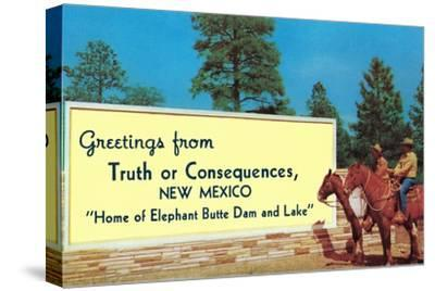 Greetings from Truth or Consequences