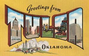 Greetings from Tulsa, Oklahoma