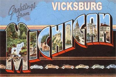 Greetings from Vicksburg--Art Print