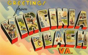 Greetings from Virginia Beach, Virginia