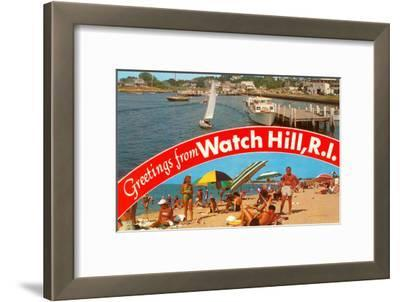 Greetings from Watch Hill, Rhode Island