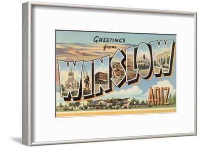 Greetings from Winslow, Arizona