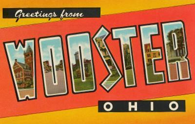 Greetings from Wooster, Ohio