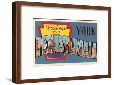 Greetings from York, Pennsylvania