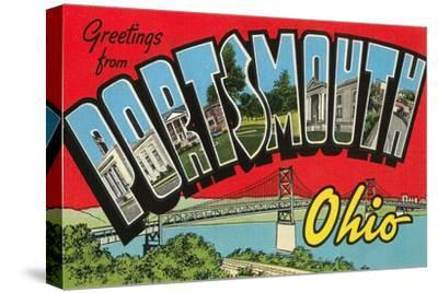 Greetngs from Portsmouth, Ohio