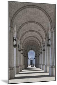 An Arched Corridor At Union Station by Greg Dale