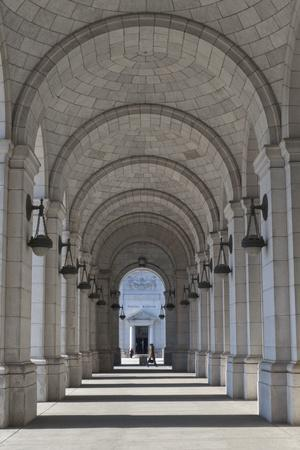 An Arched Corridor At Union Station