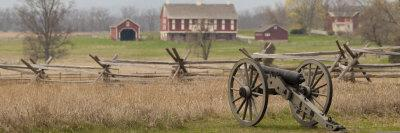 Lone Cannon at Gettysburg National Park