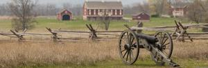 Lone Cannon at Gettysburg National Park by Greg Dale