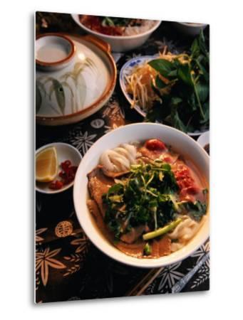 Bowl of Beef with Rice Noodles., Vietnam