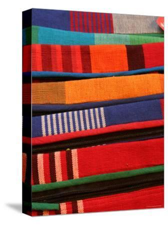 Brightly Coloured Hand-Loomed Fabrics at Barefoot, a Textile and Homewares Retailer