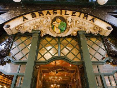 Cafe Brasileira, Chiado, Lisbon, Portugal
