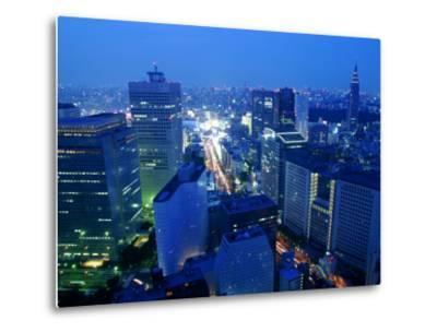 City Skyline from Sky Bar, Park Hyatt Tokyo, Tokyo, Japan