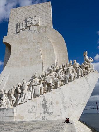 Discovery Monument Padrao Dos Descobrimentos, Belem, Lisbon, Portugal