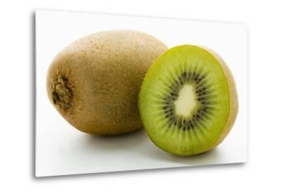 Half and Whole Kiwi Fruit