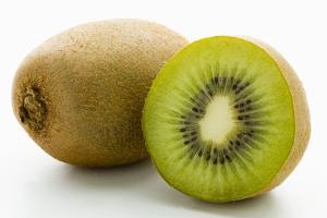 Half and Whole Kiwi Fruit by Greg Elms
