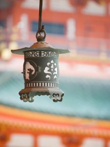 Lantern at Heijin-Jingu Temple by Greg Elms