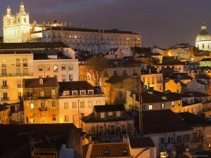 Overlooking Alfama from Largo Portas Do Sol, Lisbon, Portugal by Greg Elms