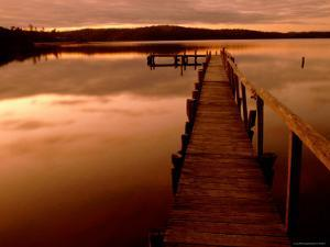 Pier at Mallacoota Inlet by Greg Elms