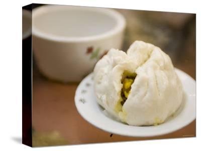Steamed Pork Bun, a Dim Sum Mainstay, Lin Heung Tea House, Central, Hong Kong, China