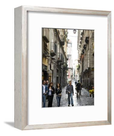 Street in Centro Storico, Naples, Campania, Italy