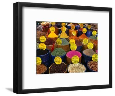 Teas and Spices at Spice Bazaar, Istanbul, Turkey