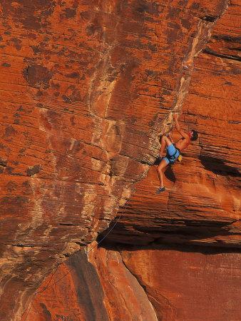 Rock Climbing, Red Rock, NV