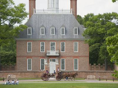 Governor's Palace, Colonial Architecture in Williamsburg, Virginia