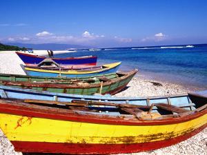 Baharona Fishing Village, Dominican Republic, Caribbean by Greg Johnston