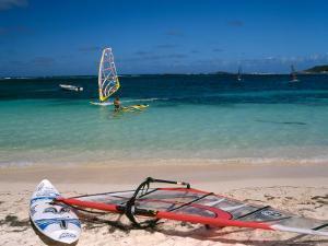 Baie de l'Embouchure, St. Martin, Caribbean by Greg Johnston