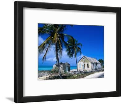 Buildings from an Old Settlement on the Shore, Cat Island, Bahamas