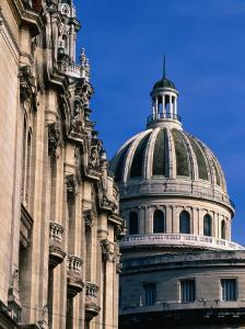 Capitol Building, Inspired by the US Capitol, It Now Houses the Academy of Sciences, Havana, Cuba by Greg Johnston