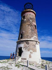 Cay Sal Bank Lighthouse, Bahamas by Greg Johnston