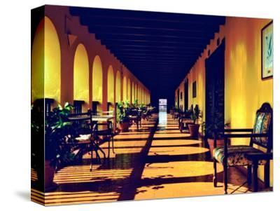 El Convento Hotel, Patio del Nispero, Courtyard, San Juan, Puerto Rico